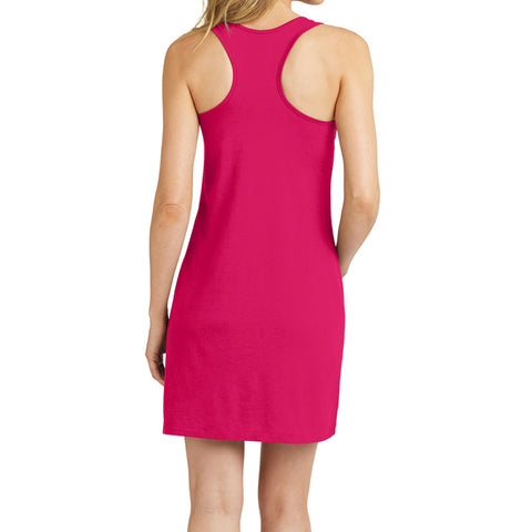 Women's 60/40 Racerback Dress - Watermelon - Back