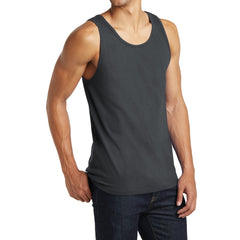 Men's District Young The Concert Tank - Charcoal