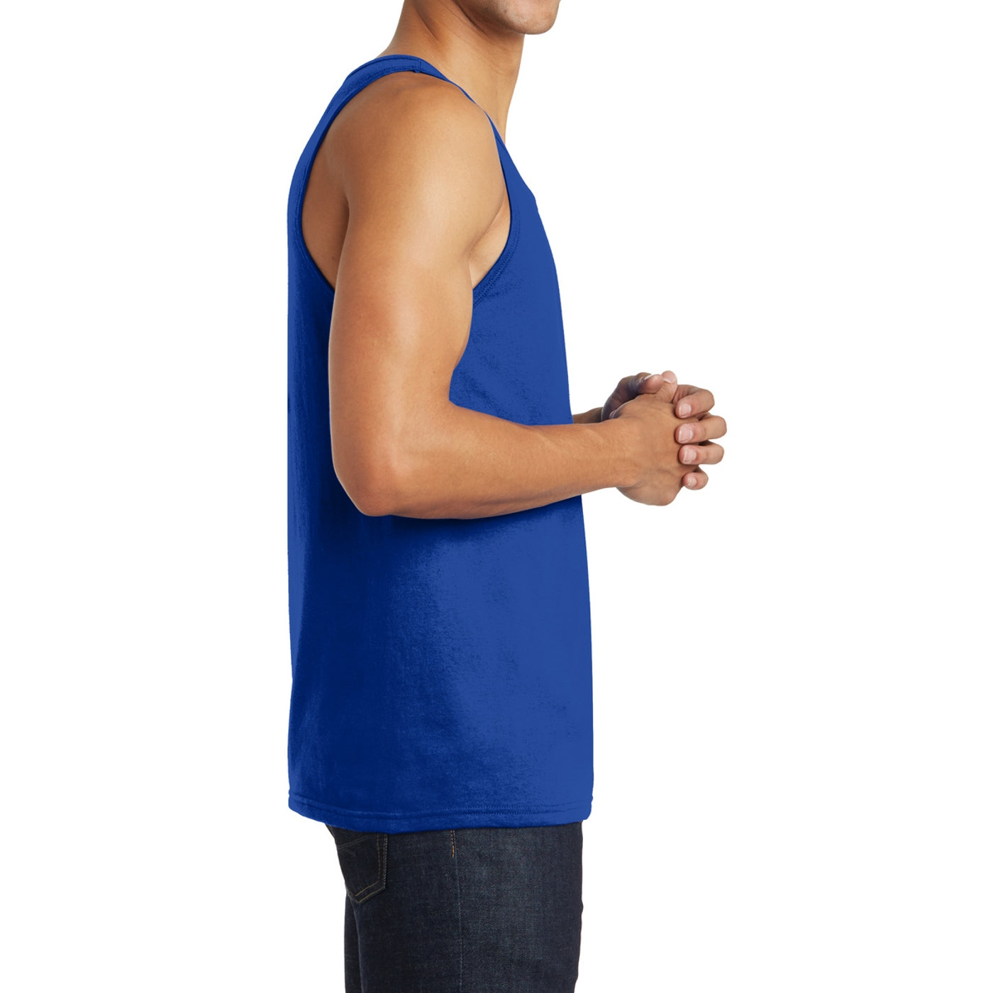 Men's District Young The Concert Tank - Deep Royal