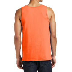 Men's District Young The Concert Tank - Neon Orange