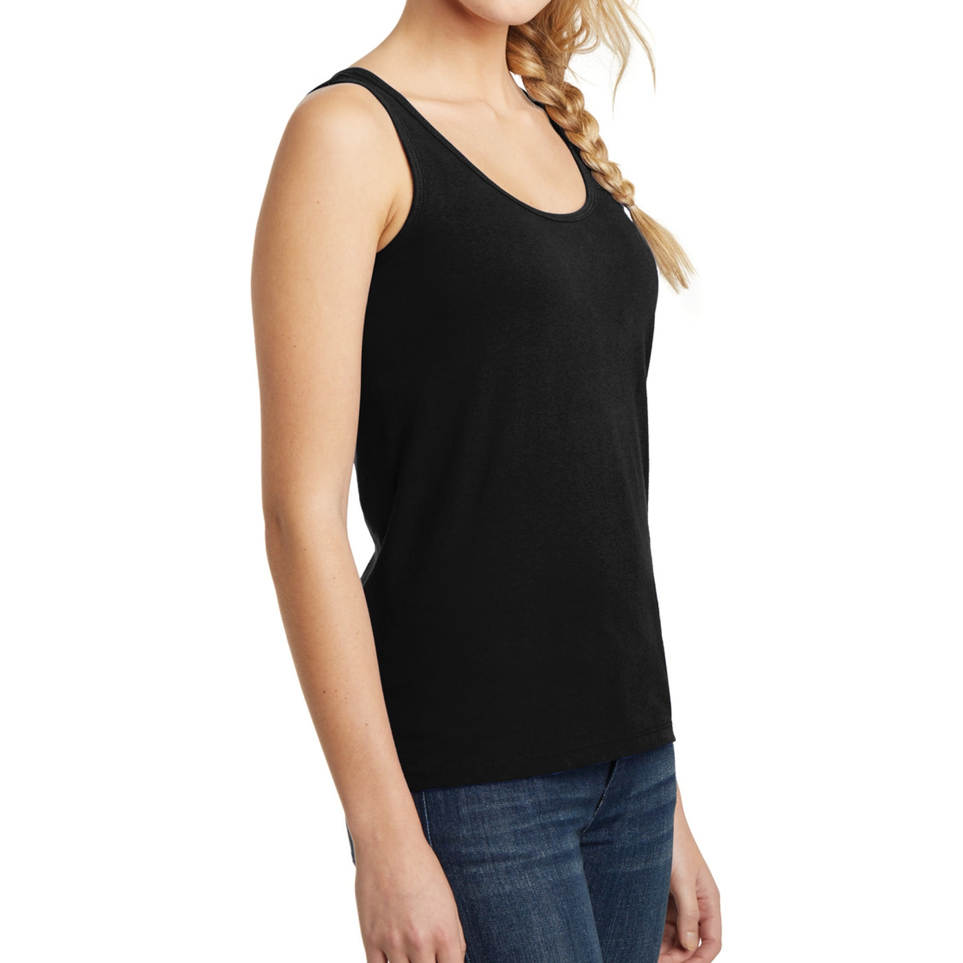 Women's Juniors The Concert Tank - Black