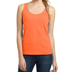 Women's Juniors The Concert Tank - Neon Orange