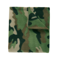 Core Printed Fleece Blanket Camo Print