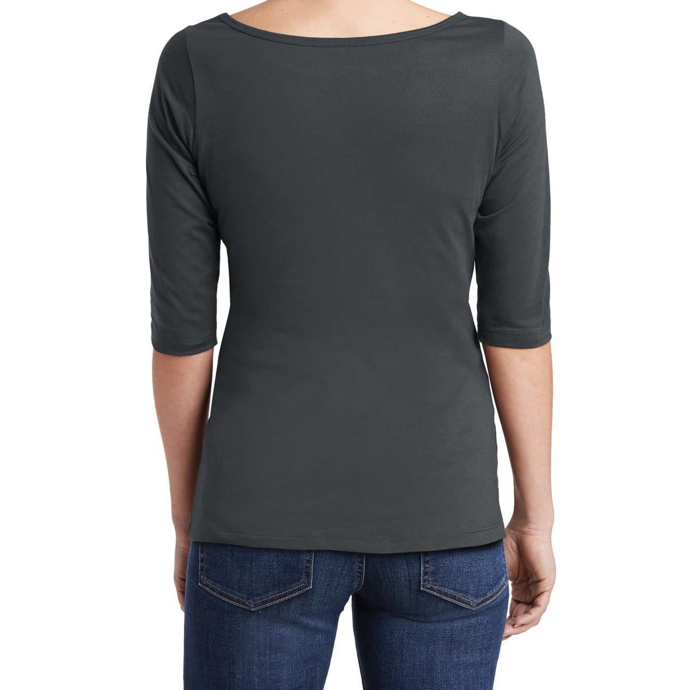 Women's Perfect Weight 3/4-Sleeve Tee - Charcoal