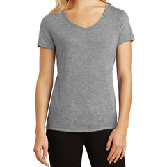 Women's Perfect Tri V-Neck Tee - Grey Frost - Front