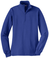 Mafoose Women's 1/4 Zip Sweatshirt True Royal-Front