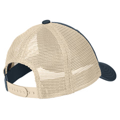 Men's Super Soft Mesh Back Cap - New Navy/ Stone