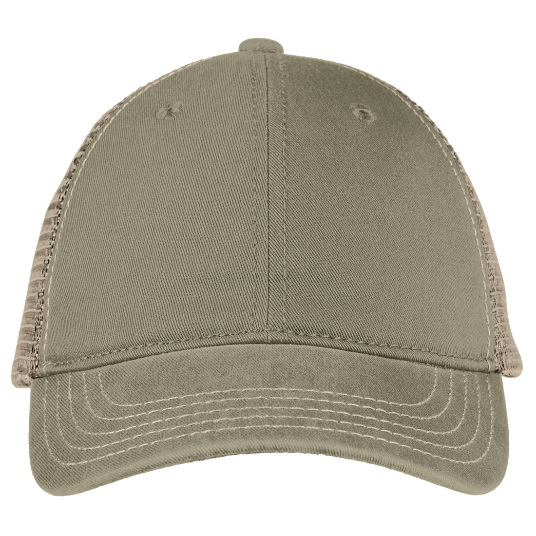 Men's Super Soft Mesh Back Cap - Olive/ Khaki