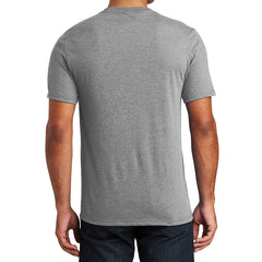 Mens Perfect Tri V-Neck Tee - Grey Frost - Back