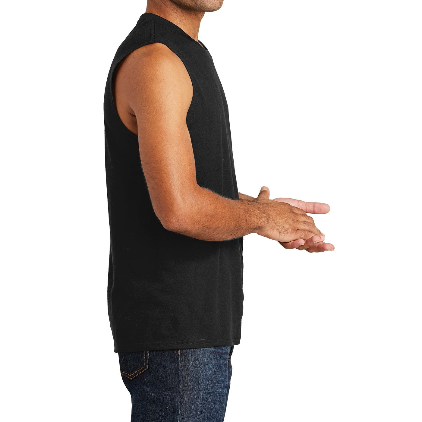 Men's V.I.T. Muscle Tank - Black