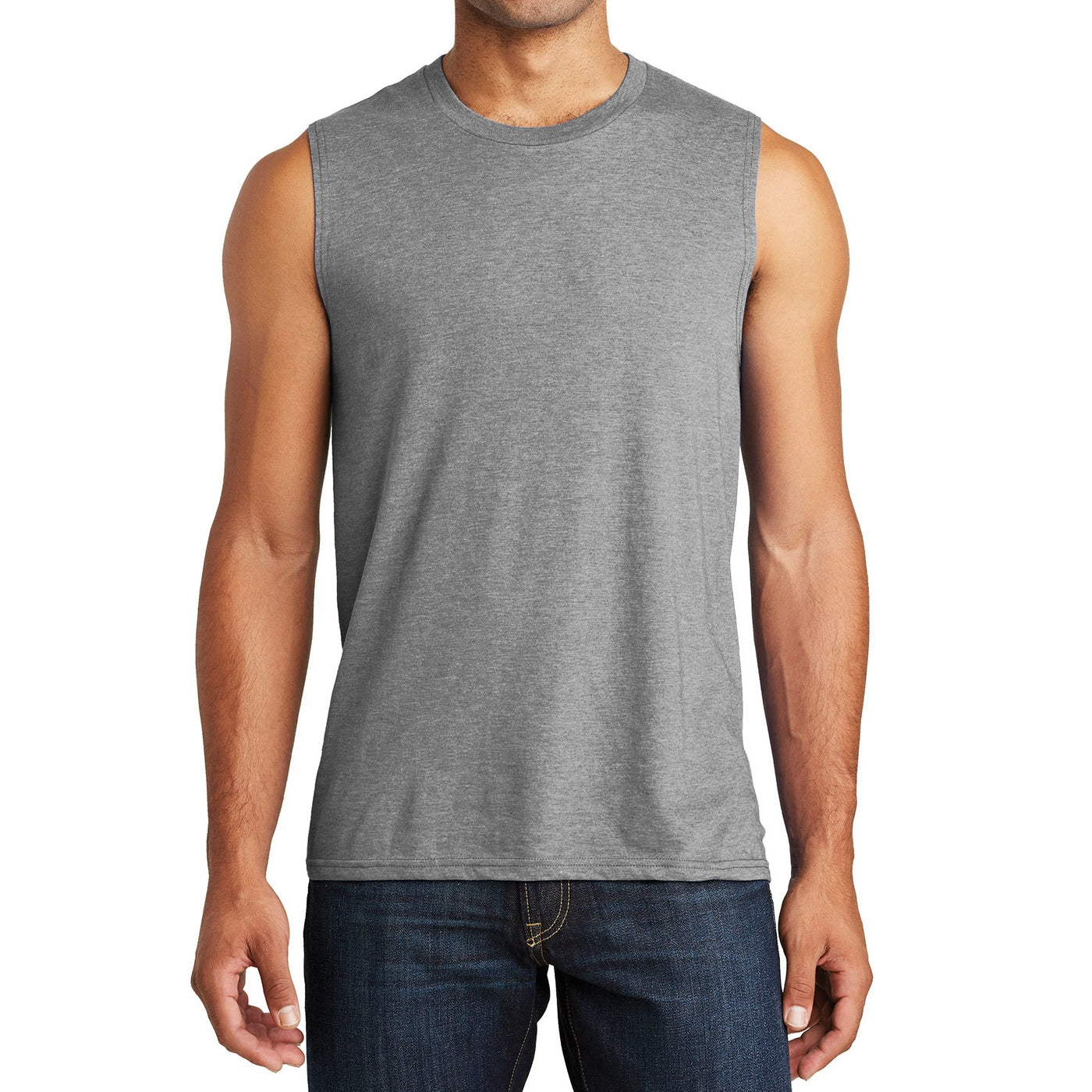 Men's V.I.T. Muscle Tank - Grey Frost