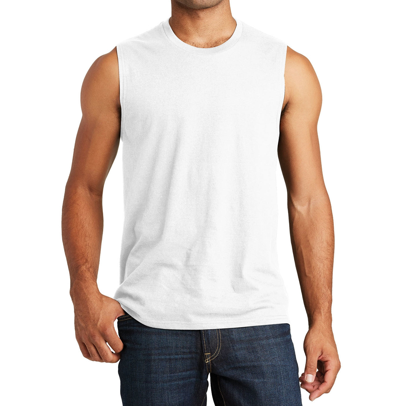 Men's V.I.T. Muscle Tank - White