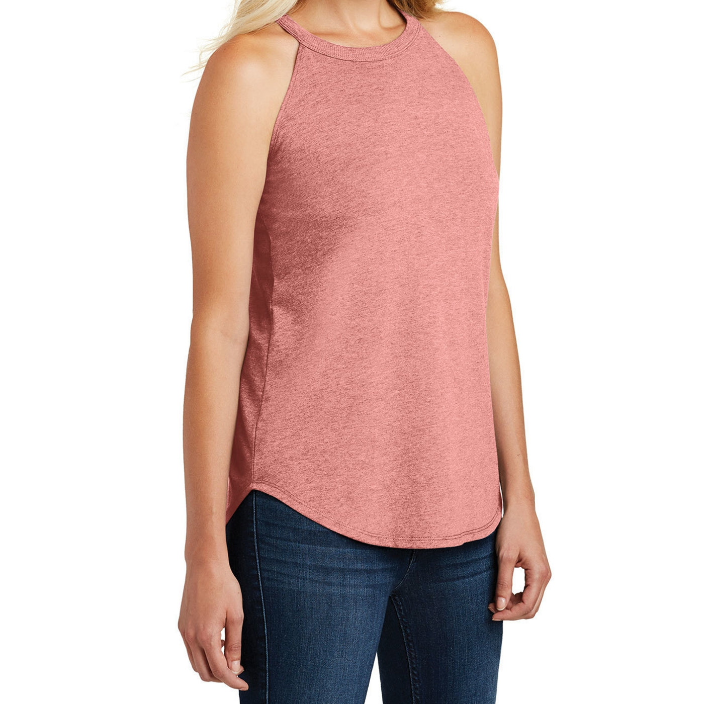 Women's Perfect Tri Rocker Tank - Blush Frost