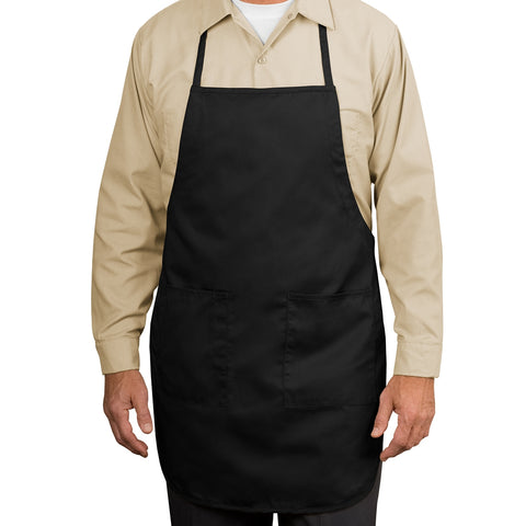 Full-Length Apron - Black