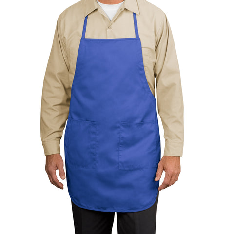 Full-Length Apron - Faded Blue