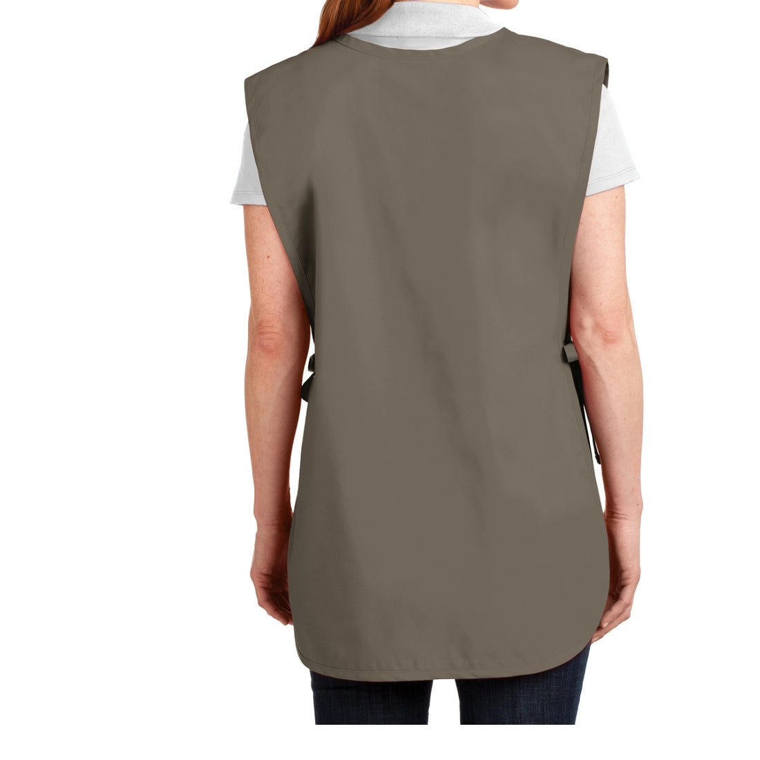 Easy Care Cobbler Apron with Stain Release - Khaki