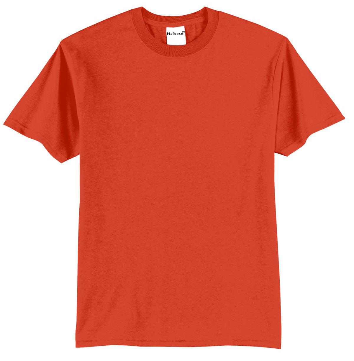 Mafoose Men's Core Blend Tee Shirt Orange