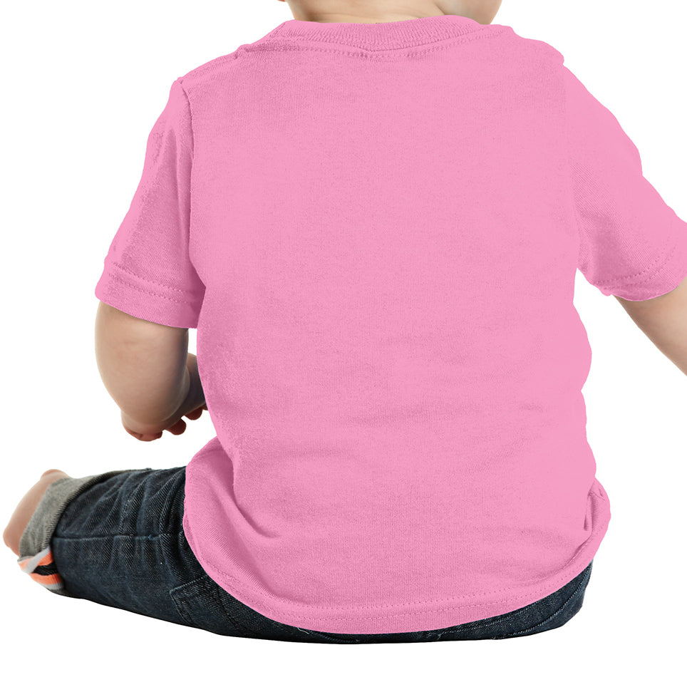 Infant Core Cotton Tee - Candy Pink