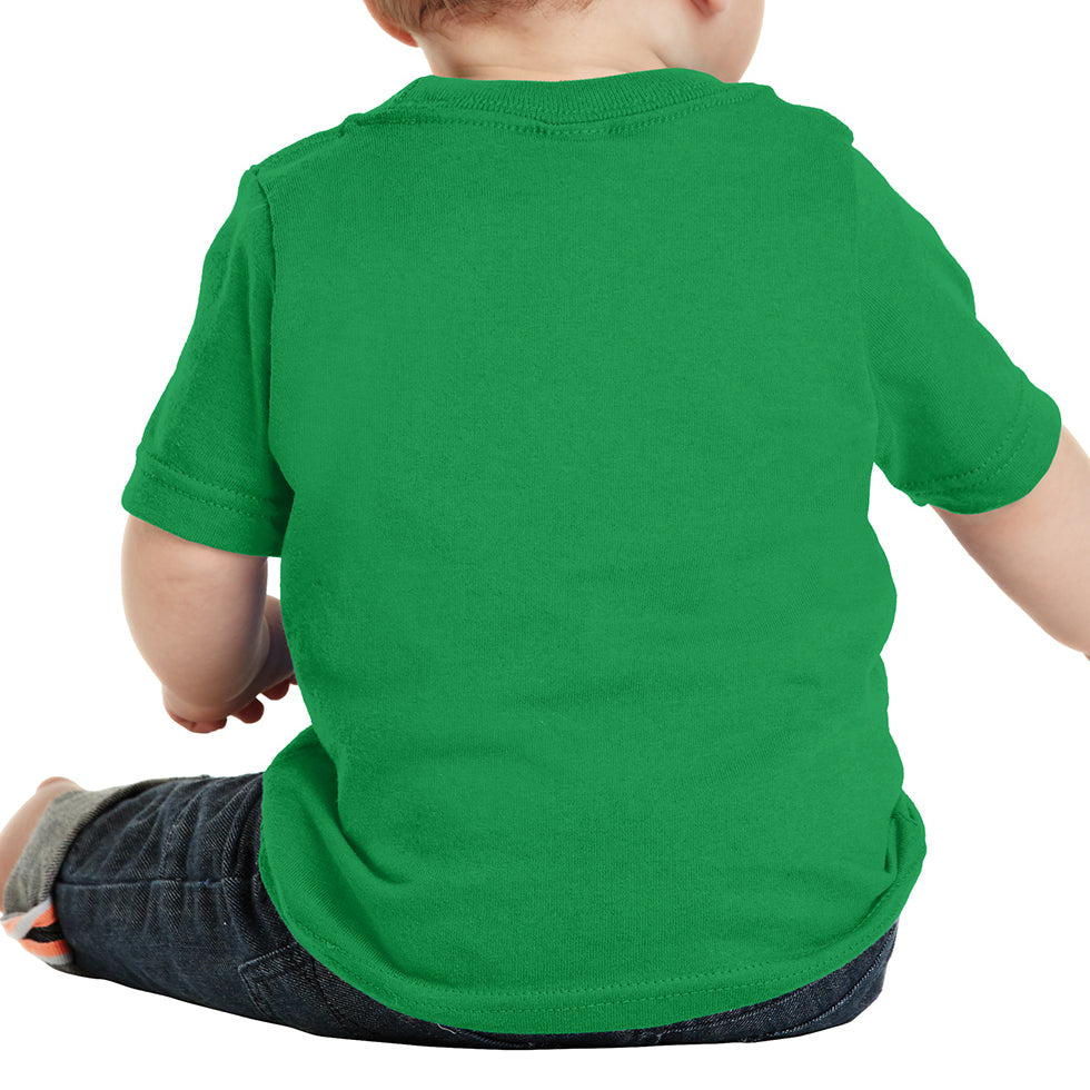 Infant Core Cotton Tee - Clover Green