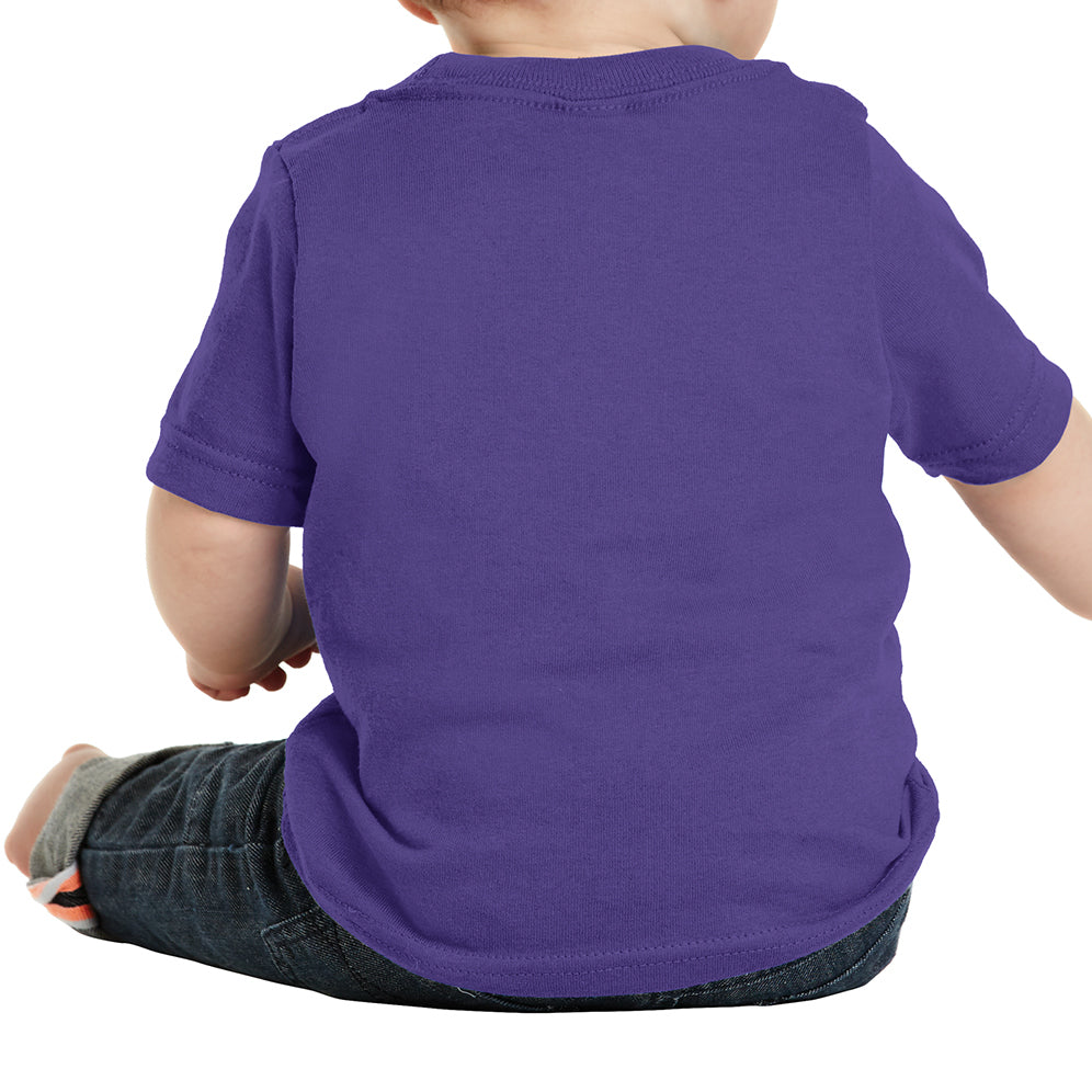 Infant Core Cotton Tee - Purple