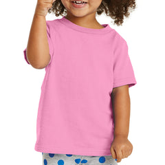 Toddler Core Cotton Tee - Candy Pink