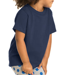Toddler Core Cotton Tee - Navy