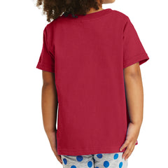 Toddler Core Cotton Tee - Red