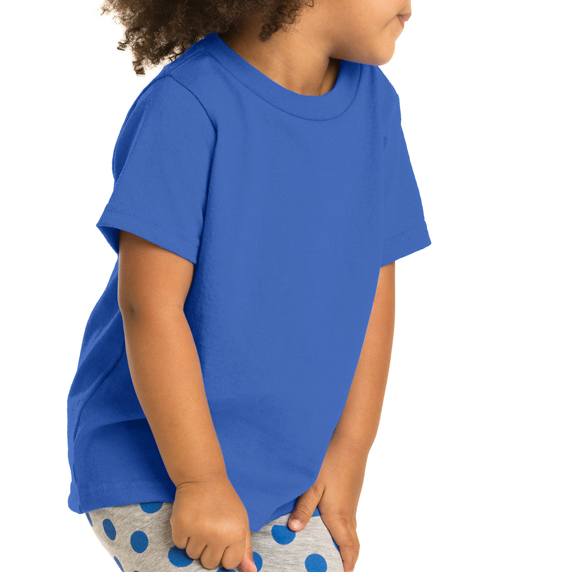 Toddler Core Cotton Tee - Royal