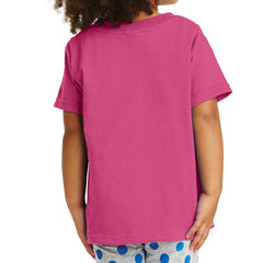 Toddler Core Cotton Tee - Sangria