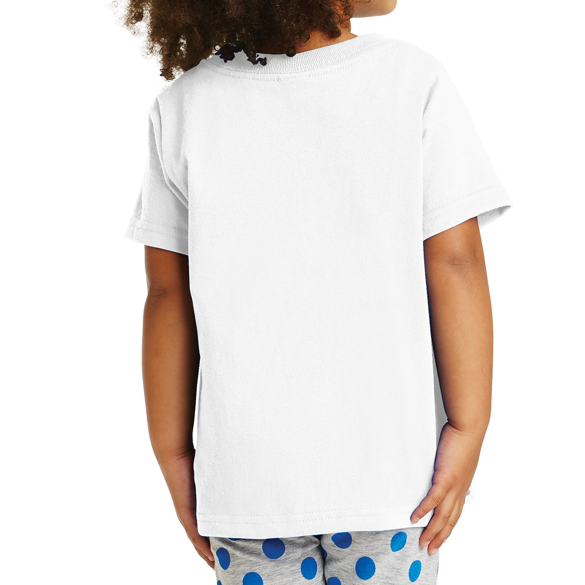 Toddler Core Cotton Tee - White