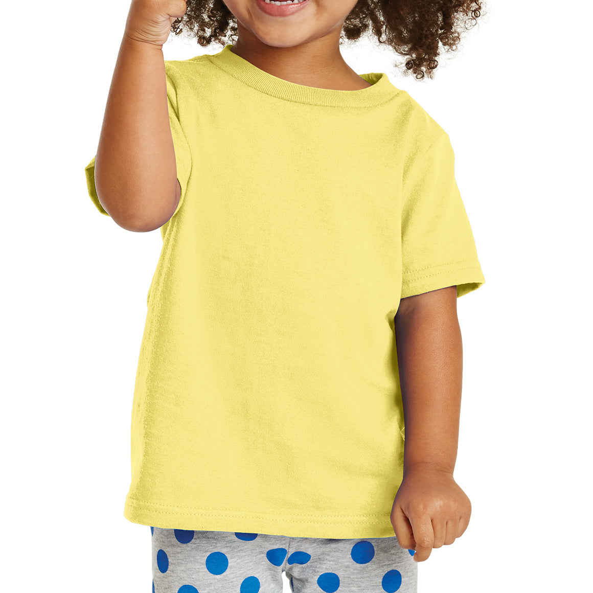 Toddler Core Cotton Tee - Yellow