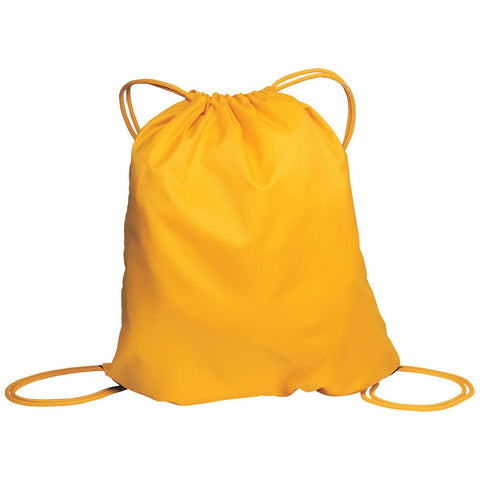Cinch Pack Drawstring Backpack Athletic Gold