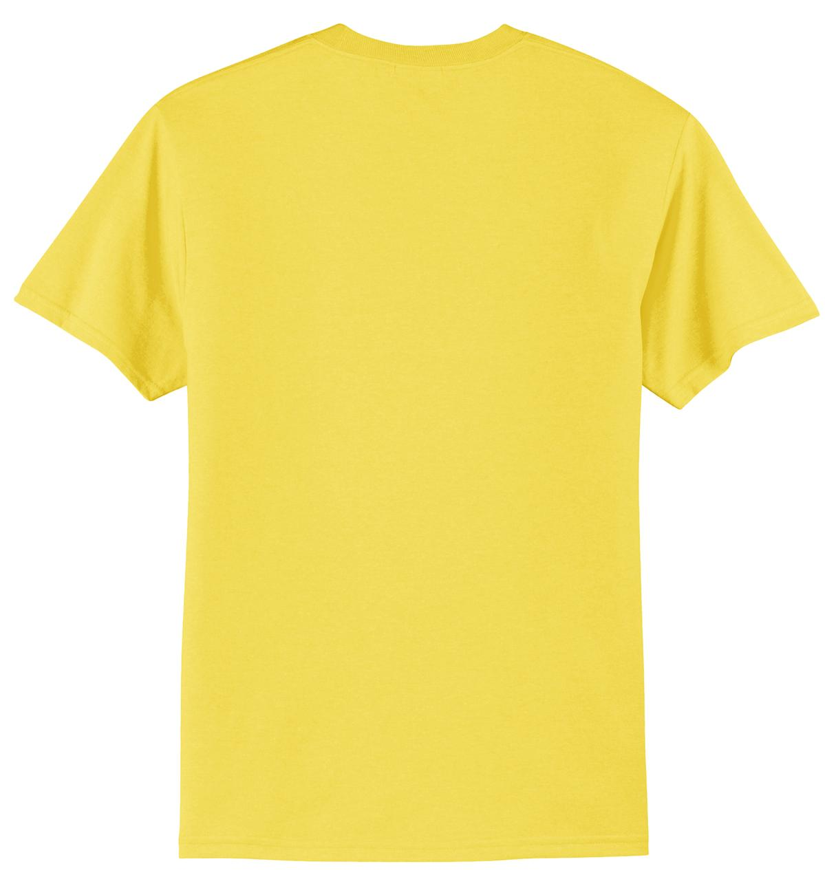 Mafoose Men's Core Blend Tee Shirt Yellow