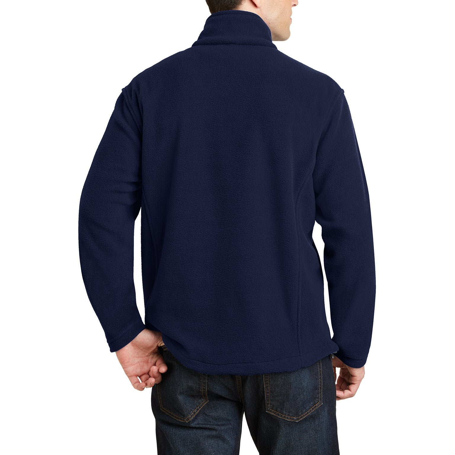 Men's Long Sleeve Value Fleece 1/4-Zip Pullover True Navy