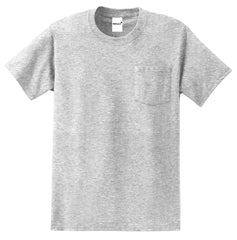Men's Essential T Shirt with Pocket Ash