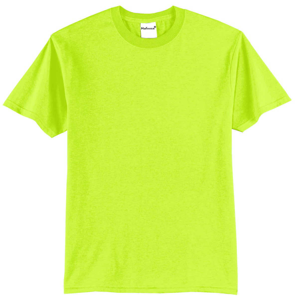 Mafoose Men's Core Blend Tee Shirt Safety Green