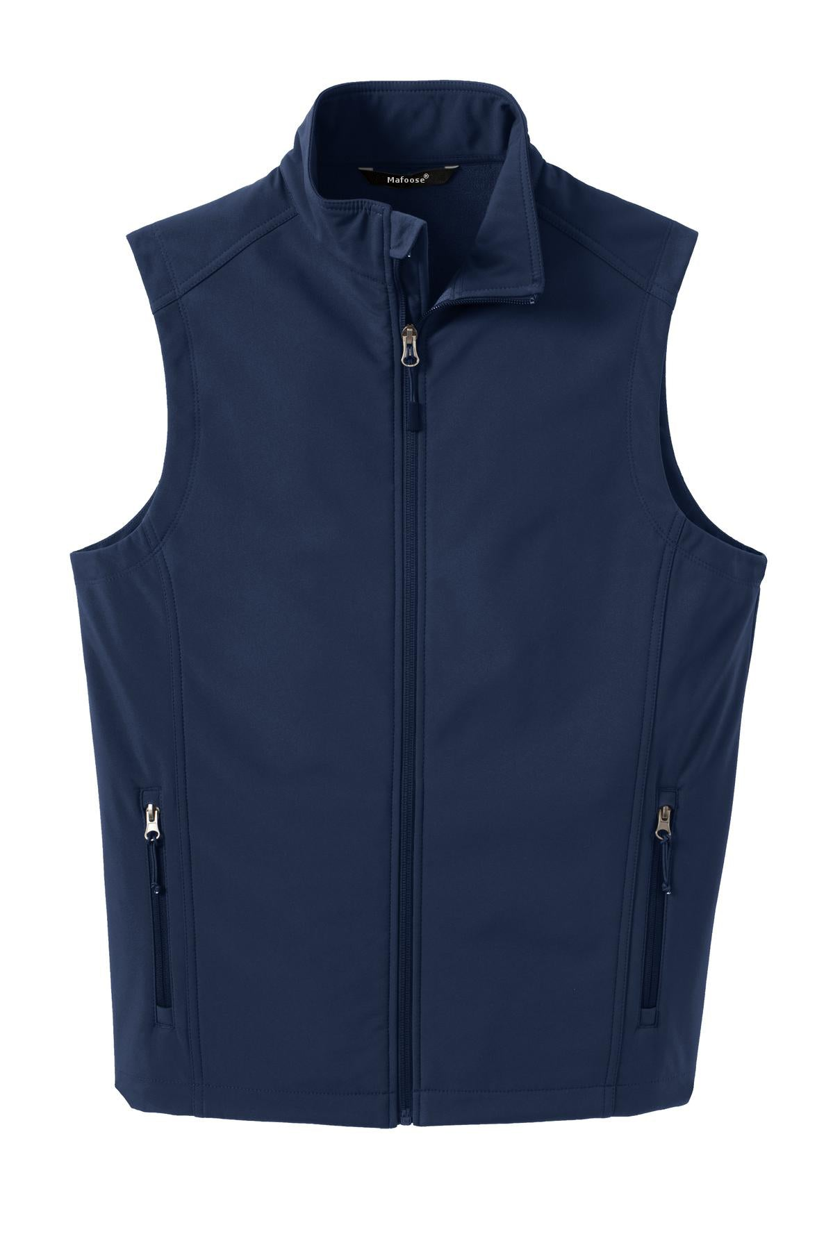 Mafoose Men's Core Soft Shell Vest Dress Blue Navy