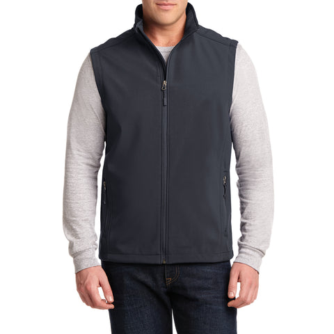 Men's Core Soft Shell Vest Grey