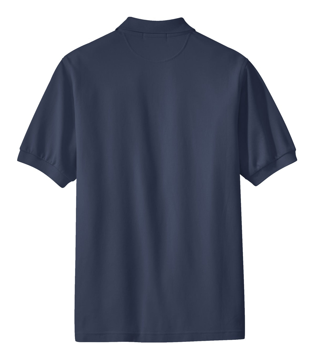 Mafoose Men's 100% Pima Cotton Polo Shirt Navy-Back