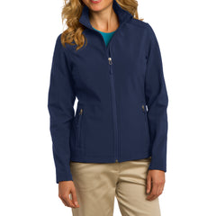 Mafoose Women's Core Soft Shell Jacket Dress Blue Navy