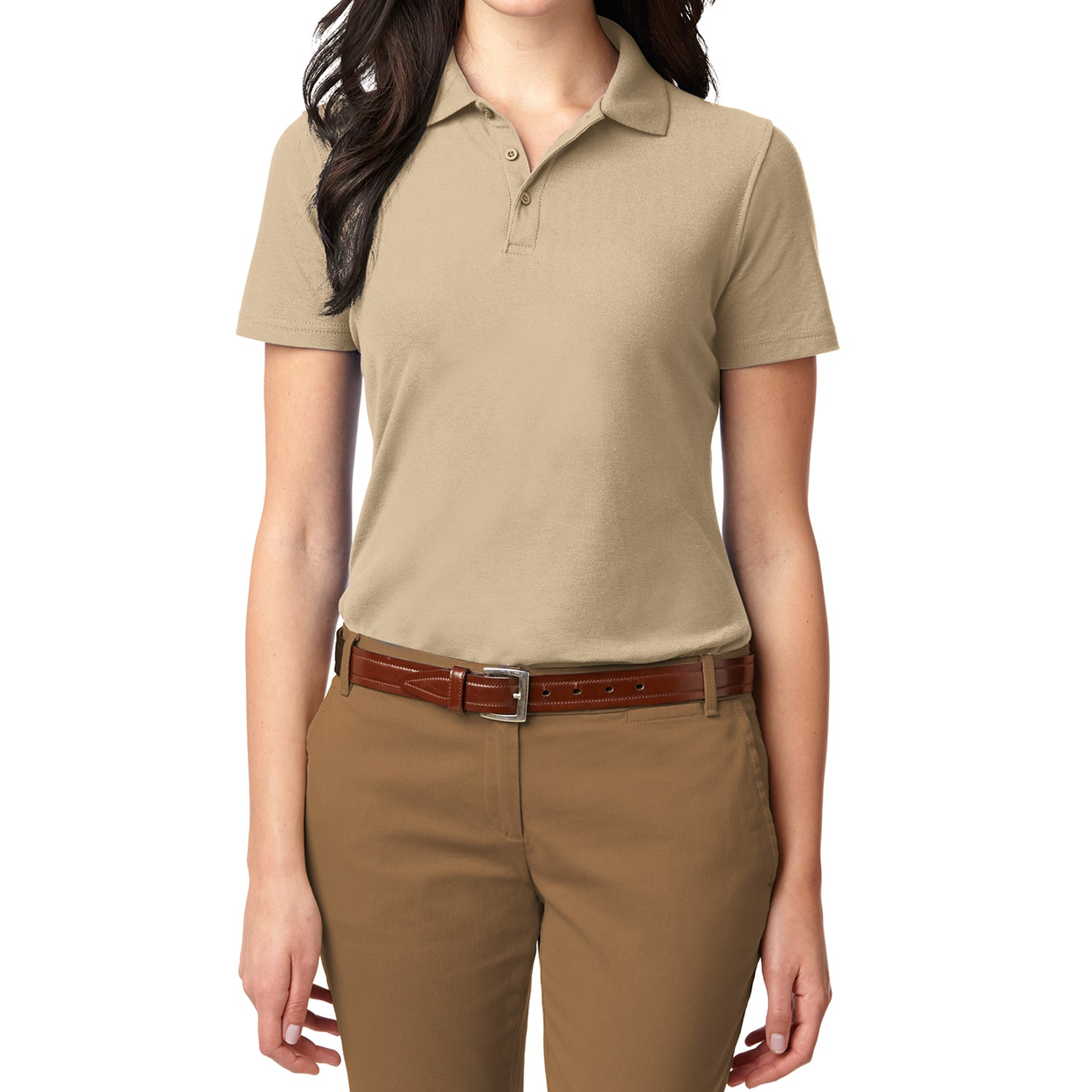 Women's Stain Resistant Polo Shirt