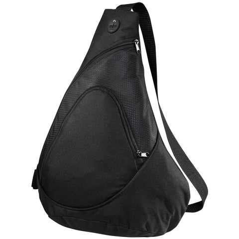Luggage and Bags Honeycomb Sling Pack Black
