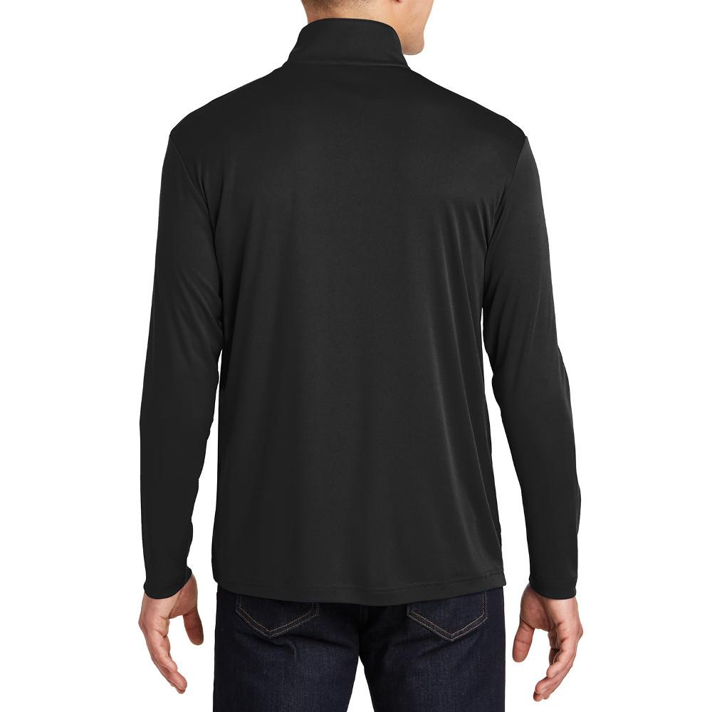 PosiCharge Competitor Cadet Collar 1/4-Zip Pullover Black