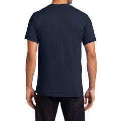 Men's Essential T Shirt with Pocket Deep Navy