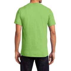Men's Essential T Shirt with Pocket Lime