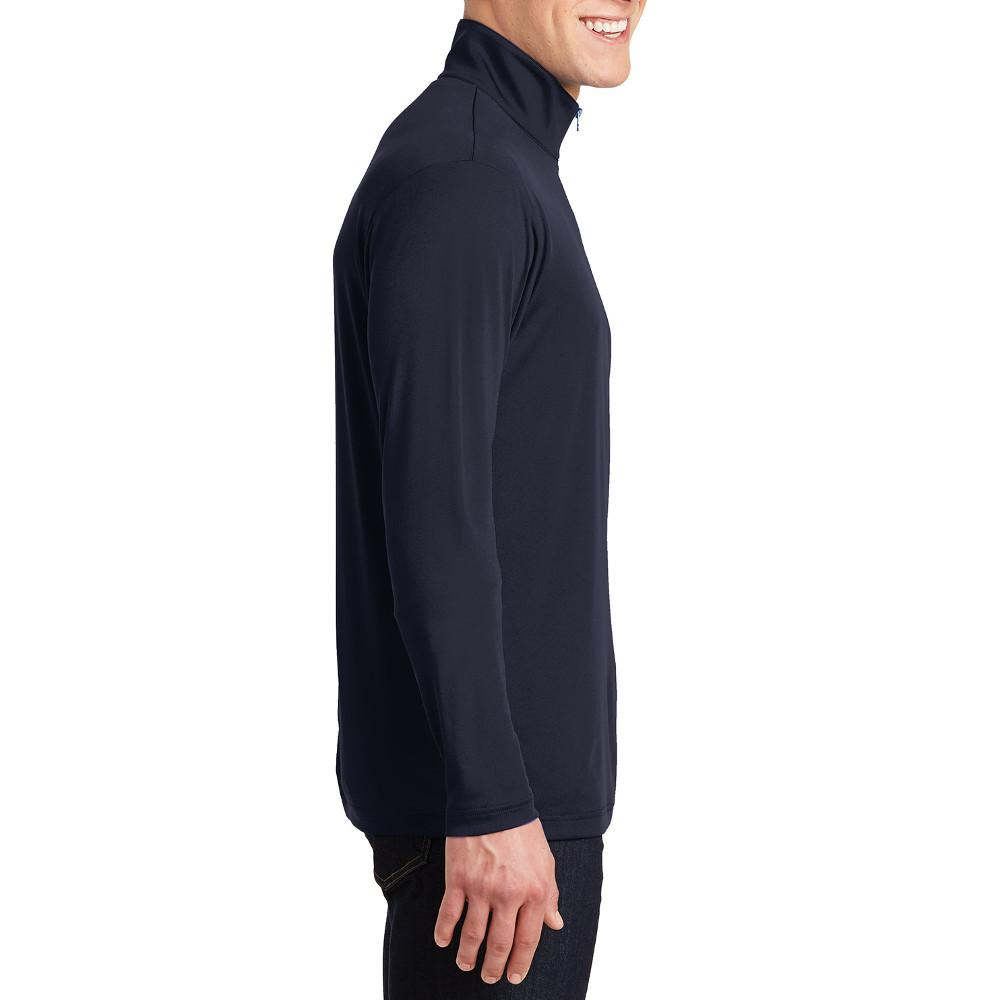 PosiCharge Competitor Cadet Collar 1/4-Zip Pullover True Navy