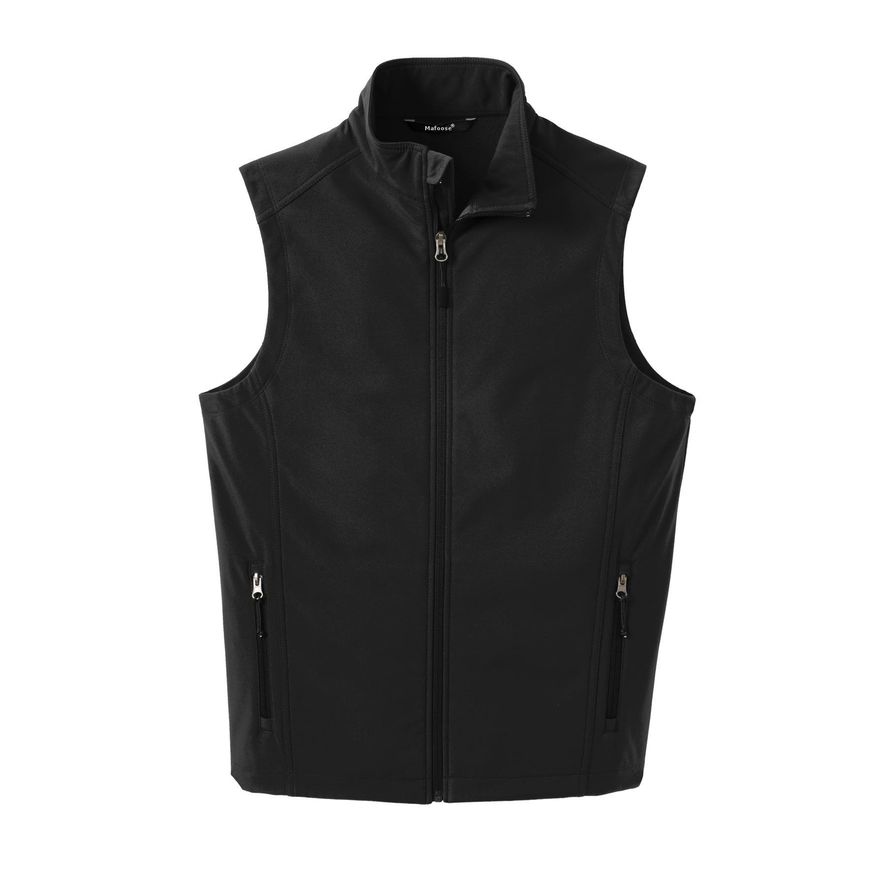 Mafoose Men's Core Soft Shell Vest Black
