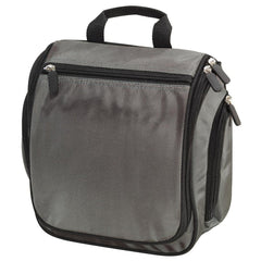 Men's Hanging Toiletry Kit Bag Deep Smoke