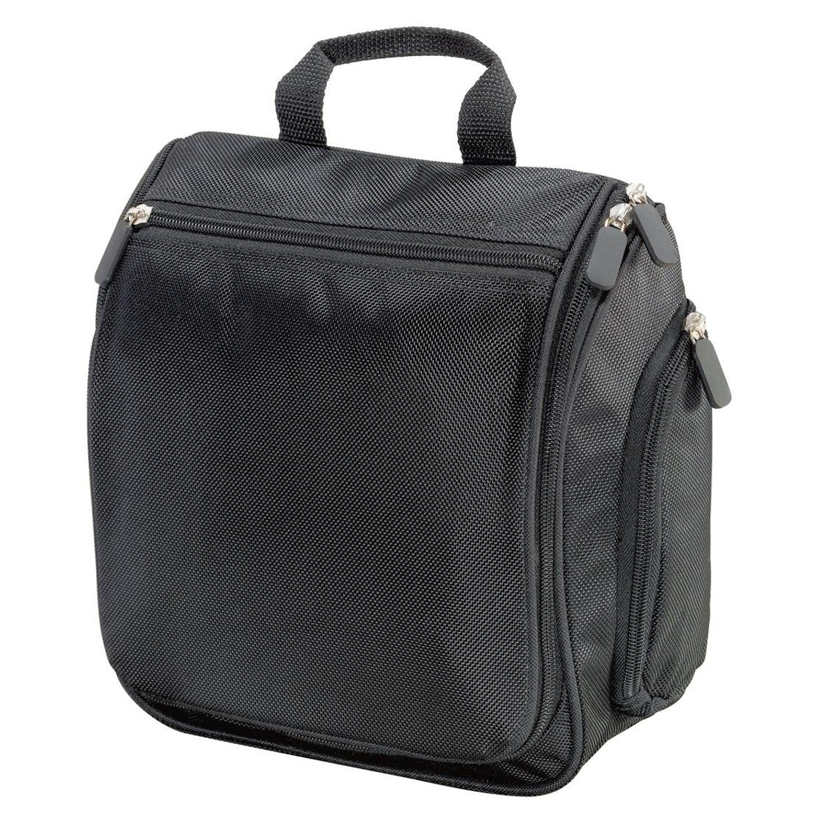 Men's Hanging Toiletry Kit Bag Black
