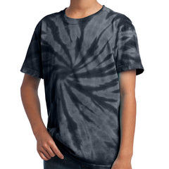 Youth Tie-Dye Tee - Black